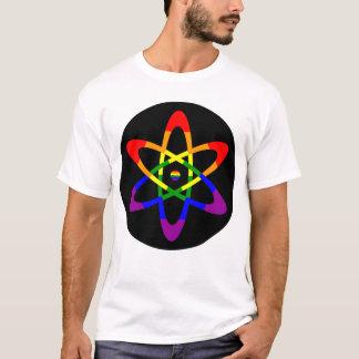 Rainbow Flag Atom T-Shirt