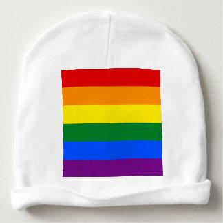 Rainbow Flag Baby Beanie