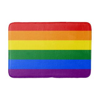 Rainbow Flag Bath Mat