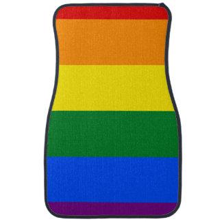 Rainbow Flag Car Mat