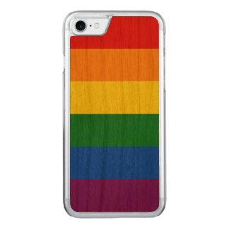 Rainbow Flag Carved iPhone 8/7 Case