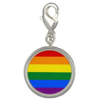 Rainbow Flag Charm