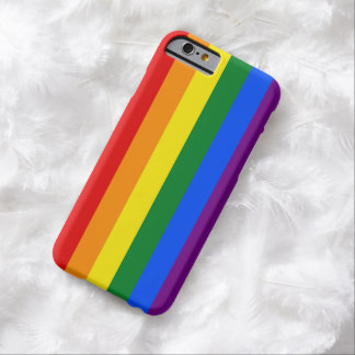 RAINBOW FLAG COLORS + your ideas Barely There iPhone 6 Case