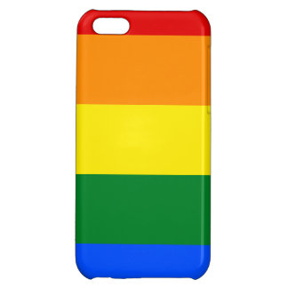 Rainbow Flag Cover For iPhone 5C