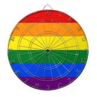 Rainbow Flag Dartboard