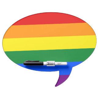 Rainbow Flag Dry Erase Board