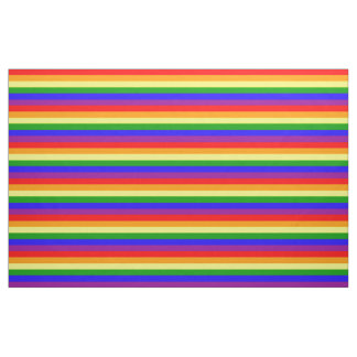 Rainbow flag fabric