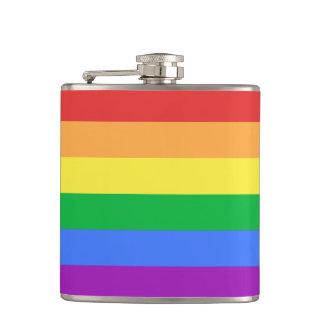 Rainbow Flag Flask
