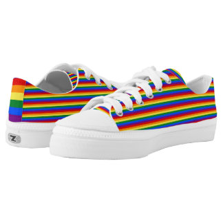 Rainbow Flag Gay Pride LGBT Love is Love Shoes