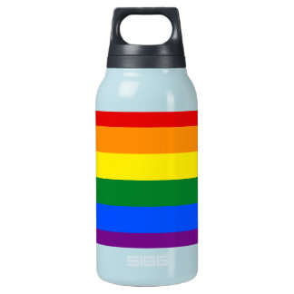 Rainbow Flag Insulated Water Bottle