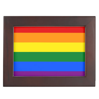 Rainbow Flag Keepsake Box
