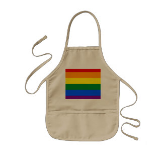 Rainbow Flag Kids Apron