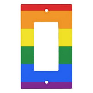Rainbow Flag Light Switch Cover