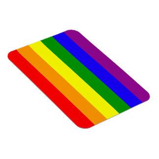 Rainbow flag magnet