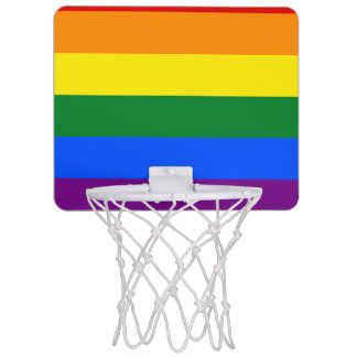 Rainbow Flag Mini Basketball Hoop