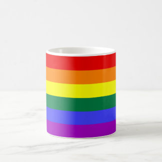 Rainbow Flag Mog Coffee Mug