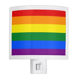 Rainbow Flag Night Lite