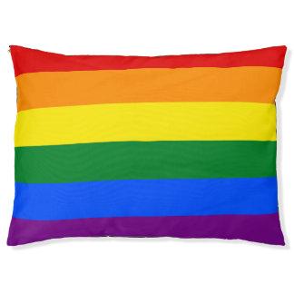 Rainbow Flag Pet Bed