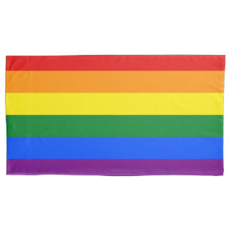 Rainbow Flag Pillowcase