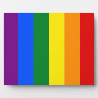 Rainbow Flag Plaque