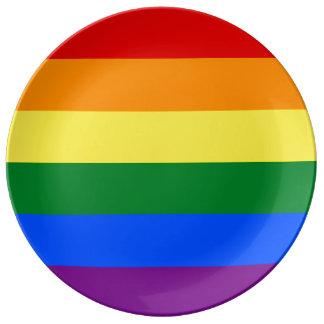 Rainbow Flag Plate