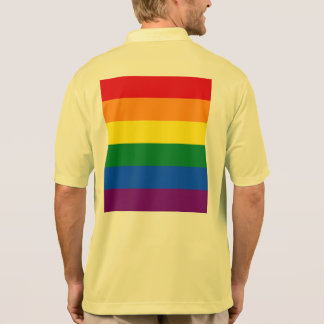 Rainbow Flag Polo Shirt
