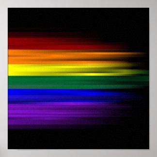 Rainbow Flag Poster