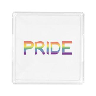 Rainbow Flag Pride Acrylic Tray