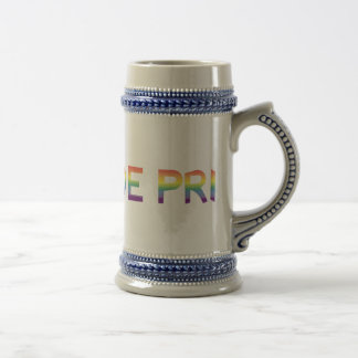 Rainbow Flag Pride Beer Stein