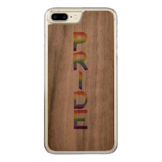 Rainbow Flag Pride Carved iPhone 8 Plus/7 Plus Case