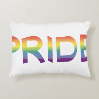 Rainbow Flag Pride Decorative Pillow