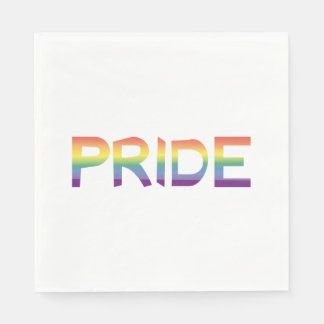Rainbow Flag Pride Disposable Napkin