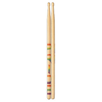 Rainbow Flag Pride Drum Sticks