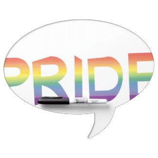 Rainbow Flag Pride Dry Erase Board