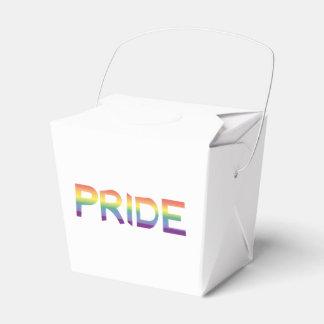 Rainbow Flag Pride Favor Box