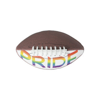 Rainbow Flag Pride Football