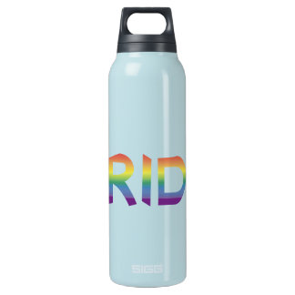 Rainbow Flag Pride Insulated Water Bottle