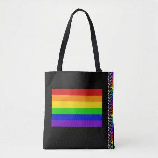 Rainbow Flag PRIDE LGBT Human Rights Diversity Bag
