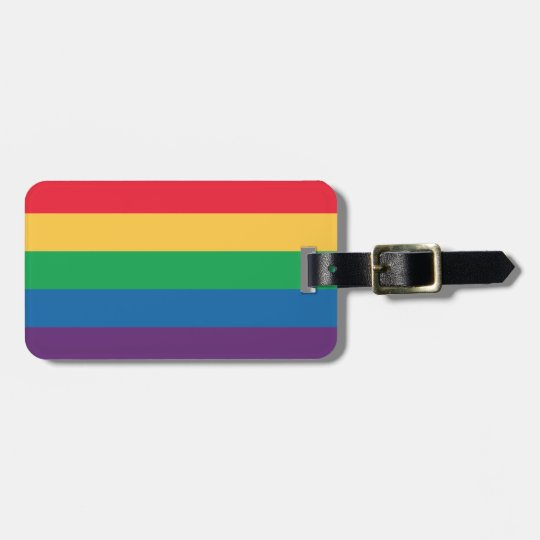 Rainbow Flag Pride Luggage Tag