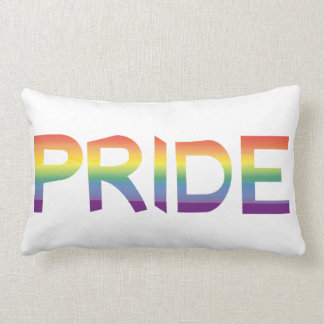 Rainbow Flag Pride Lumbar Pillow