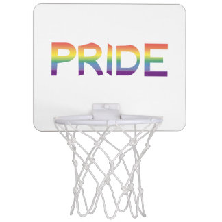 Rainbow Flag Pride Mini Basketball Hoop
