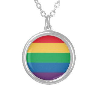 Rainbow Flag Pride Necklace