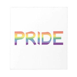 Rainbow Flag Pride Notepad