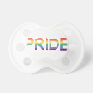 Rainbow Flag Pride Pacifier