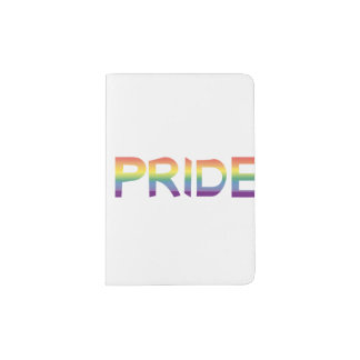 Rainbow Flag Pride Passport Holder