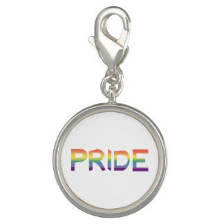 Rainbow Flag Pride Photo Charms