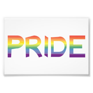 Rainbow Flag Pride Photo Print