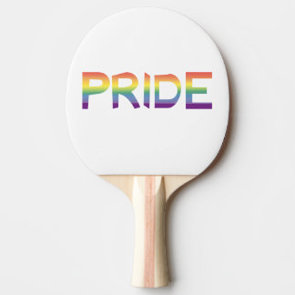 Rainbow Flag Pride Ping Pong Paddle