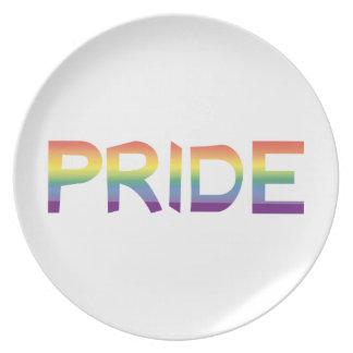 Rainbow Flag Pride Plate