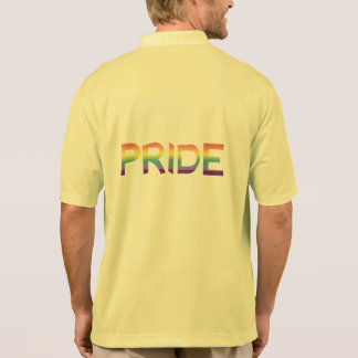Rainbow Flag Pride Polo Shirt